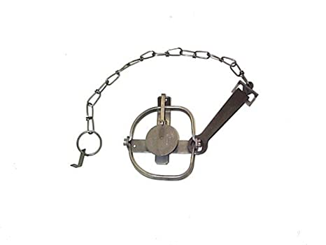 Trapping Supplies Mink Muskrat Coon Duke 12 1.5 Coil Spring Square Jaw Trap