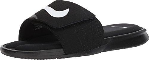 Nike Men's Ultra Comfort Slide (11 D(M) US, Black/White-Black)