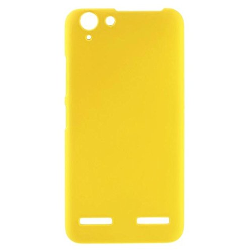 Duro caja plástica del teléfono de Lenovo Vibe K5 Plus / Vibe K5 yellow