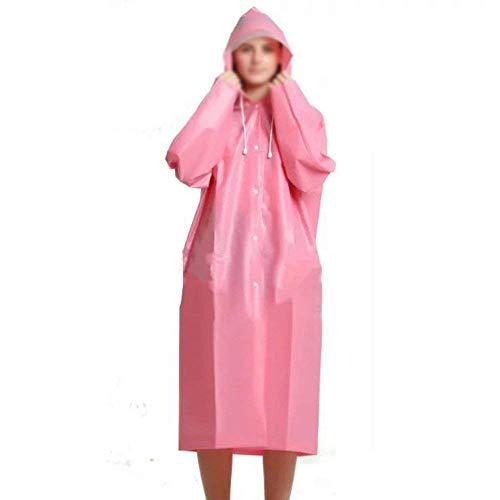 Dame Casual Imperméables Imperméable Femmes Battercake Randonnée Adulte Et Poncho À Une Longue Pièce Extérieur L'eau Confortable Pink Homme zn8Fwq