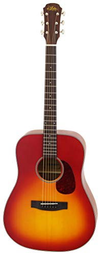 - Aria Vintage 100 Series 6 String Dreadnought Acoustic Guitar Matte Cherry Burst