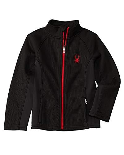 Spyder Boy's Youth Constant Full Zip Sweater Black XL