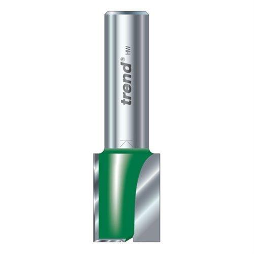 Trend C023AX1/4TC TREND C023AX1/4TC Two Flute Cutter 14mm Diameter 1 Silver by Trend
