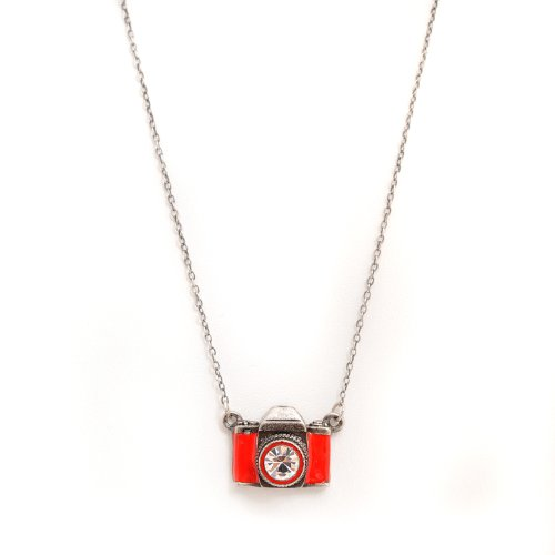 red camera necklace - 9