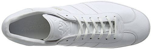 adidas Originals Gazelle Bb54, Scarpe Running Unisex - Adulto Bianco (Ftwr White/Ftwr White/Gold Metallic)