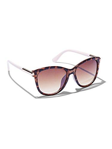 - New York & Co. Women's Cat-Eye Sunglasses 0 Tortoise