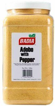 Badia Adobo with Pepper 8 lbs