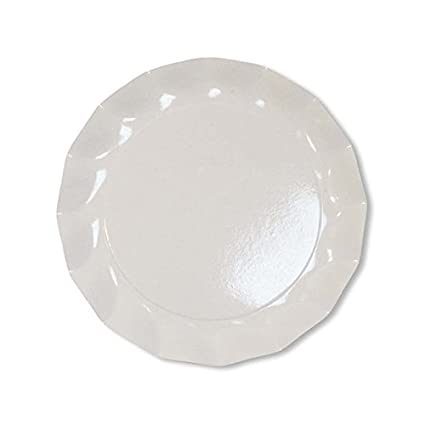 Sophistiplate Bright White Petal Paper Dinner Plates (Pack of 20) Fancy Disposable Dinnerware for  sc 1 st  Amazon.com & Amazon.com: Sophistiplate Bright White Petal Paper Dinner Plates ...