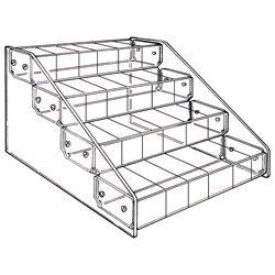 Clear Acrylic 24 Compartment Bin Storage Organizer
