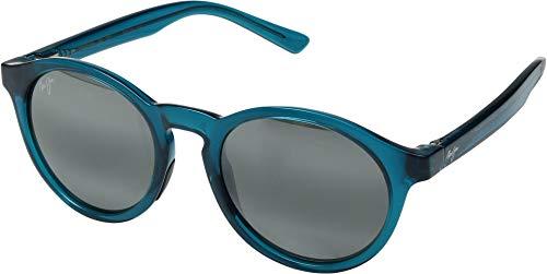 Maui Jim Pineapple 784-06D | Polarized Teal Green Classic Frame Sunglasses, Patented PolarizedPlus2 Lens ()