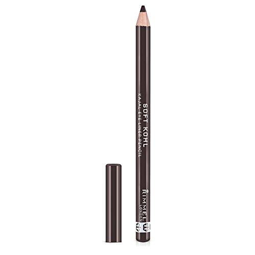 Kohl Pencil Kajal Eye - Rimmel Soft Kohl Eyeliner, Sable Brown, 0.04 Ounce