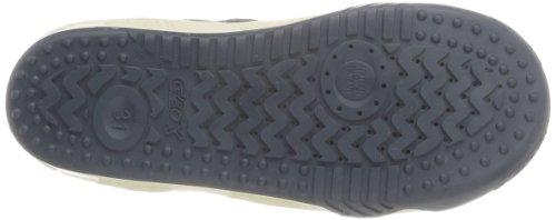 Geox J Original C - Zapatillas de Deporte de cuero niño azul - Bleu (Navy/Red)