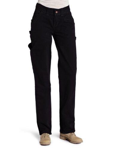 UPC 607645937267, Dickies Women's Relaxed Fit Duck Carpenter Pant, Black, 14 Regular