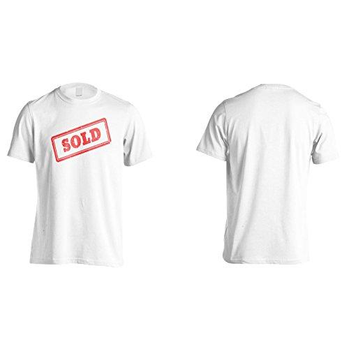 Neu Verkauft Briefmarke Vereinbart Zeichen Herren T-Shirt m320m