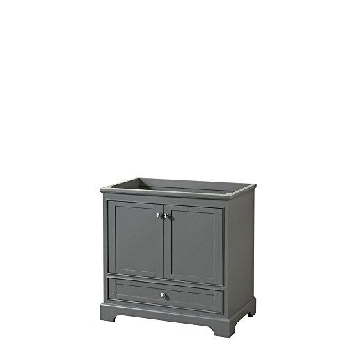 CS202036SKGCXSXXMXX Deborah Single Vanity Cabinet, No Countertop, No Sink, and No Mirror, 36