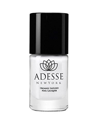 Adesse New York Organic Infused Gel Effect Nail Polish- Whit