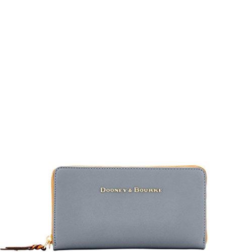 Dooney Around Zip Bourke Wallet (Dooney & Bourke City Lg Zip Around Leather Wallet)