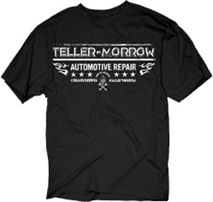 Sons of Anarchy Teller-Morrow Repair Mens Black T-Shirt | XXL (Sons Of Anarchy Shirt)