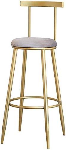 YLCJ Chaise de Bar Simple Tabouret Haut Accueil Retour Table ...