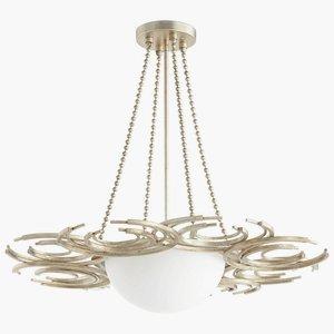 Cyan Design 06916 Vivian Three Light Pendant (Lighting Cyan)
