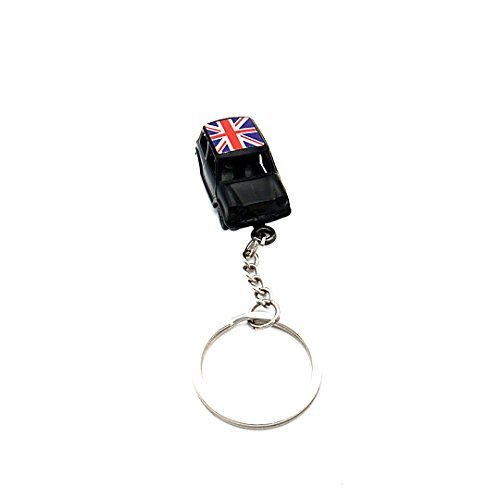 Trimming Shop Single - Black Taxi Keyring Keychain 3D Metal Die Cast London Uk British Souvenir