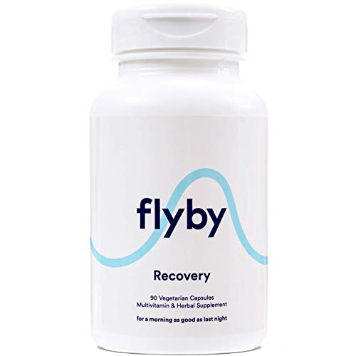 Flyby Hangover Cure & Prevention Pills (90 Capsules) - Dihydromyricetin (DHM), Chlorophyll, Prickly Pear, N-Acetyl-Cysteine, Milk Thistle for Morning After Alcohol Recovery & Aid - Certified Organic (Best Way To Make A Headache Go Away)