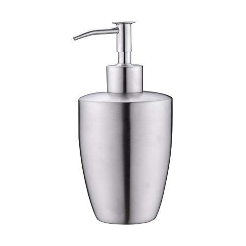 UEKPOE Soap Dispenser, SUS 304 Stainless Steel Brushed Nickel Bottle Hand Soap Dispenser (8.8 oz / 260ml) ()