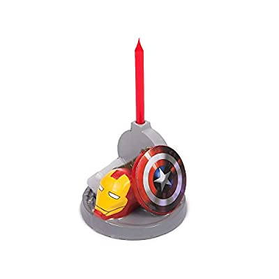 Avengers Birthday Candle (Each): Home & Kitchen [5Bkhe1800285]
