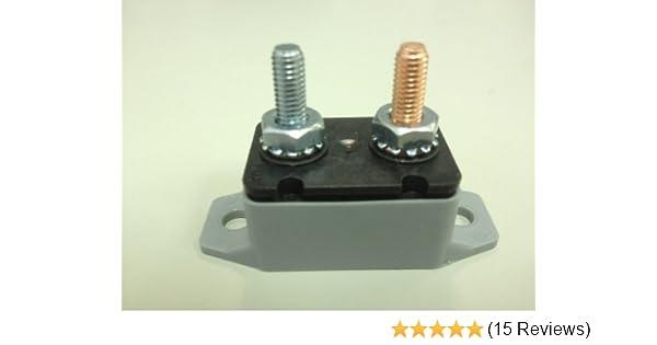 Short Stop Circuit Breaker 15A Plastic In Line BRKT Type 1 12V