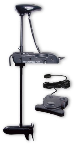 Watersnake FWDR44-48 Shadow Bow Mount Foot Control Motor (Black, 48-inch) -