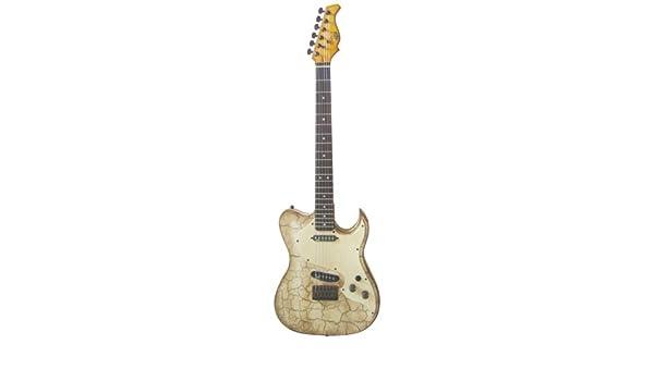 Badwater Axl t estilo para guitarra, color marrón: Amazon.es ...