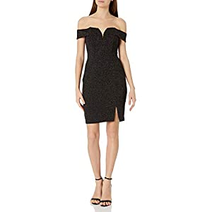 ASTR the label Women's Jade Sweetheart Cold Shoulder Dress