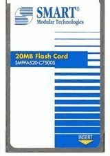 20MB FLASH CARD; APPROVED ()