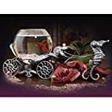 Enchanted Evening Betta Bowl in Old Pewter