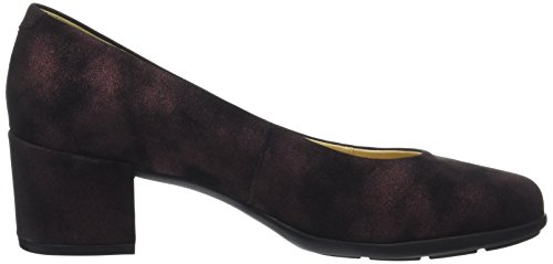 Geox Womens Annya Mid 3 Dress Pump Bordeaux Scuro