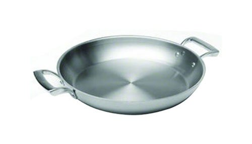 Browne (5724171) 10'' Stainless Steel Paella Pan