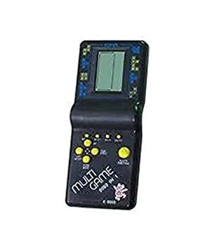 Tingoking Toys Hand Held 9999 in 1 Battery Operated Brick Video Game Set for Kids(Multicolor)