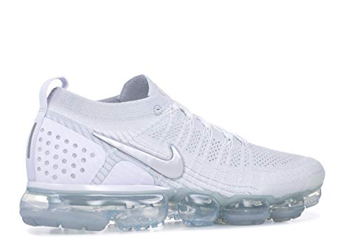 De 105 Nike Grey Zapatillas football Air Flyknit Grey white Gimnasia Hombre 2 vast Blanco white Para Vapormax XFqFaxwA