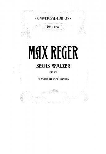 Read Online 6 Waltzes, Op.22 - Score PDF