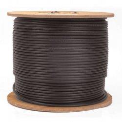RG-59U Siamese Coax Cable CCTV Video/Power 1000 Foot by E&L