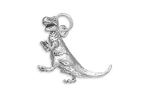 - Corinna-Maria 925 Sterling Silver Tyrannosaurus Rex Dinosaur Charm T. Rex