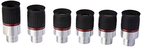 Meade Instruments 07736 Series 5000 HD-60 Eyepiece Set, 6-Pi