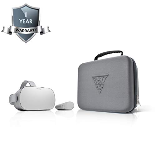 Carrying Case for Oculus Go and Samsung Gear VR Headsets | Ultimate Protection for Your Virtual Reality Headsets | The Perfect Travel Case for Standalone VR | 100% Protection for Oculus Go Travel