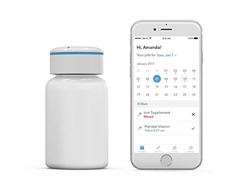 Pillsy - Pill Reminder | Smart Pill Bottle, Vitamin Alarm, Bluetooth w/Free Smartphone App