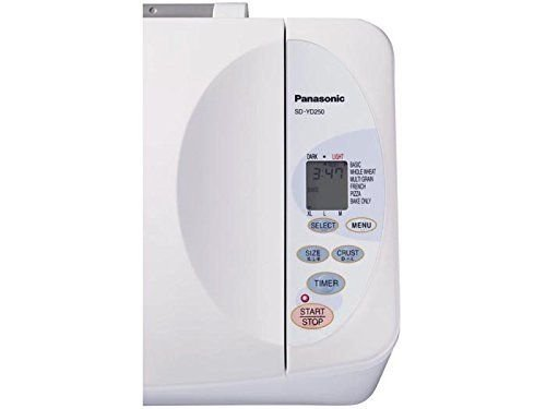 (USA Warehouse) Panasonic SD-YD250 Automatic Bread Maker with Yeast Dispenser Loaf Machine White -/PT# HF983-1754354876
