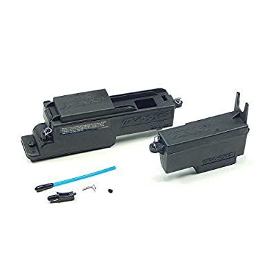 Imachine Traxxas Revo 3.3 Large Receiver & Small Servo Battery Box Tank Mount 5325X 5324: Toys & Games