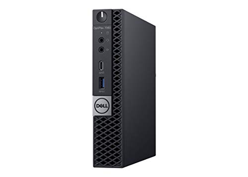 Dell OptiPlex 7060 Micro Form Factor Desktop Computer, Intel Core i7-8700T, 16GB DDR4-2666 (2x8GB), 512GB NVMe Solid State Drive, Windows 10 Pro, with Dell 3-Year NBD Warranty (Renewed) (512gb Pcie Nvme Class 40 Solid State Drive)