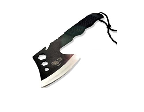 Virtuous *Stainless Steel Camping Axe with Nylon Sheath,tactical Knives