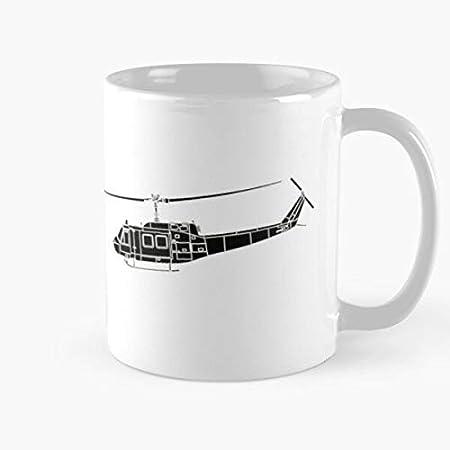 """Vietnam War History Napalm Apocalypse Now Huey Military N?Palm Best Taza de café de cerámica de 315 ml con texto en inglés """"Eat Food Bite John Best Taza de café de cerámica de 315 ml"""