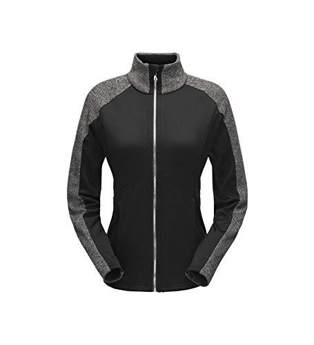 - Spyder Women's Bandita Full Zip Stryke Jacket, Black/Black/Black, X-Large